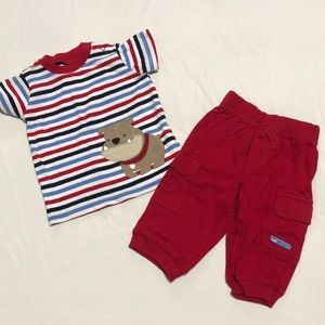 Carters boys outfit